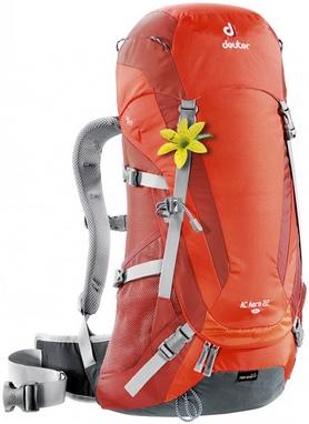 Рюкзак туристический Deuter Ac Aera 22 л SL papaya-lava