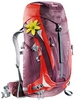 Рюкзак туристический Deuter Act Trail Pro 38 л SL aubergine-fire - фото 1