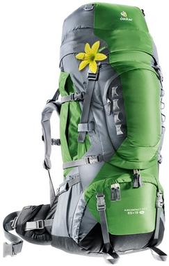 Рюкзак туристический Deuter Aircontact Pro 65+15 л SL emerald-titan