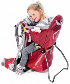 Фото 8 к товару Рюкзак-переноска городской Deuter Kid Comfort II 16 л cranberry-fire