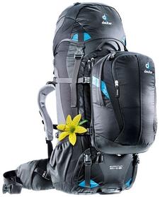 Рюкзак туристический Deuter Quantum 60+10 л SL black-turquoise