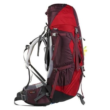 Рюкзак туристический Deuter Aircontact 60+10 л cranberry-stone