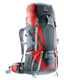 Рюкзак Deuter Act Lite 65 + 10 л granite-fire