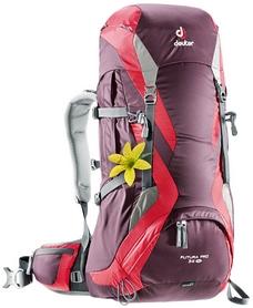 Рюкзак туристический Deuter Futura PRO 34 л SL aubergine-fire