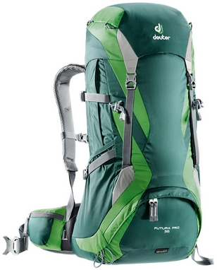 Рюкзак туристический Deuter Futura PRO 36 л forest-emerald