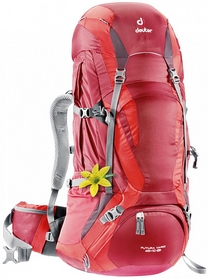 Рюкзак туристический Deuter Futura Vario 45+10 SL cranberry-fire