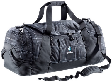 Сумка Deuter Tramp 90 л black-check