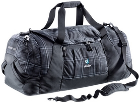 Фото 1 к товару Сумка Deuter Tramp 90 л black-check