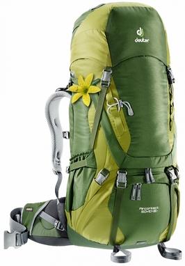 Рюкзак туристический Deuter Aircontact 50+10 л pine-moss