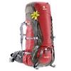 Рюкзак туристический Deuter Aircontact 60+10 л cranberry-stone - фото 2