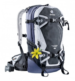Фото 1 к товару Рюкзак туристический Deuter Freerider Pro 28 л SL white-blueberry