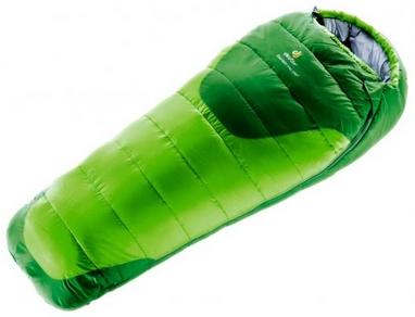 Мешок спальный (спальник) детский Deuter Stralight Pro EXP левый kiwi-emerald