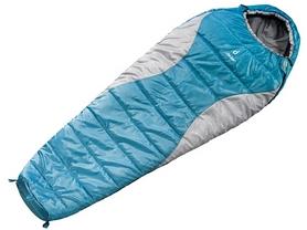 Мешок спальный (спальник) Deuter Orbit 500 L правый сине-серый