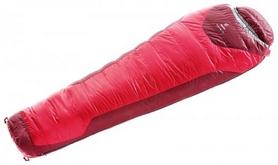 Мешок спальный (спальник) Deuter Trek Lite +3 L правый fire-cranberry