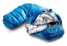 Фото 2 к товару Мешок спальный (спальник) Deuter Trek Lite +8 L правый cobalt-steel