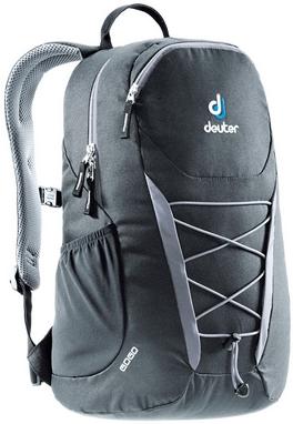 Рюкзак городской Deuter Gogo 25 л black-titan без поясного ремня