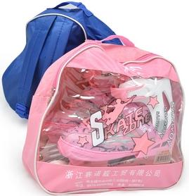 Фото 2 к товару Коньки роликовые раздвижные Maraton M-0813 розовые