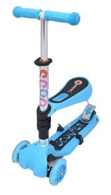 Фото 1 к товару Самокат трехколесный с сиденьем Maraton Scooter 120 голубой