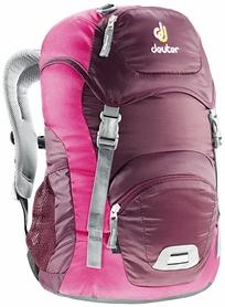 Рюкзак туристический Deuter Junior 18 л aubergine-magenta
