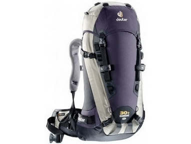 Рюкзак туристический Deuter Guide 30+ л SL bluberry-silver