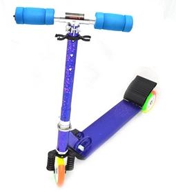 Самокат трехколесный Maraton Scooter 338 синий