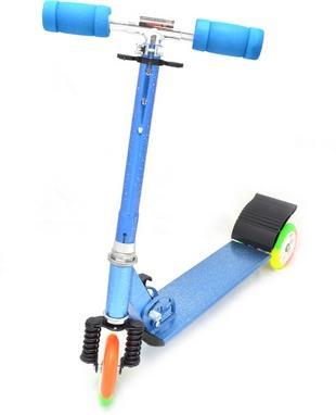 Самокат трехколесный Maraton Scooter 338 голубой