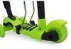 Самокат трехколесный с сиденьем Maraton Scooter 150 Зеленый - фото 2