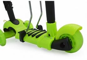 Фото 2 к товару Самокат трехколесный с сиденьем Maraton Scooter 150 Зеленый