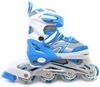 Коньки роликовые раздвижные Maraton Maraton M-203 голубые - фото 1