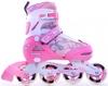 Коньки роликовые раздвижные Maraton TB 12-A розовые - фото 1