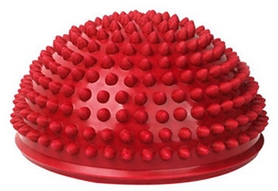 Фото 1 к товару Полусфера массажная Pro Supra Balance Kit красная