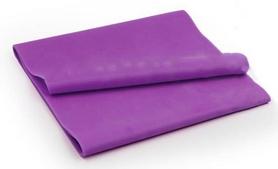 Лента эластичная для пилатеса Pro Supra (р-р 1,5 м x 15 см x 0,3 мм) фиолетовая