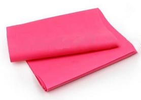 Лента эластичная для пилатеса Pro Supra (р-р 1,5 м x 15 см x 0,35 мм) розовая