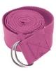 Ремень для йоги Pro Supra (183 см x 3,8 см) розовый - фото 1