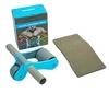 Ролик для пресса с ковриком EVA Pro Supra Abdominal wheel FI-5950-B голубой - фото 1