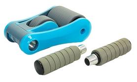 Фото 3 к товару Ролик для пресса с ковриком EVA Pro Supra Abdominal wheel FI-5950-B голубой