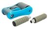 Ролик для пресса с ковриком EVA Pro Supra Abdominal wheel FI-5950-B голубой - фото 3