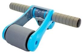 Фото 4 к товару Ролик для пресса с ковриком EVA Pro Supra Abdominal wheel FI-5950-B голубой
