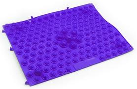 Коврик-пазл ортопедический массажный резиновый Pro Supra ZD-4601-BL