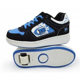 Кроссовки с роликами Maraton Heelys синие