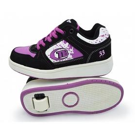 Кроссовки с роликами Maraton Heelys розовые