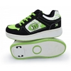 Кроссовки с роликами Maraton Heelys зеленые - фото 1
