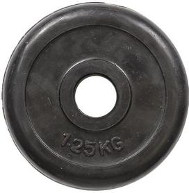 Диск обрезиненный 1,25 кг R-1.25 - 30 мм