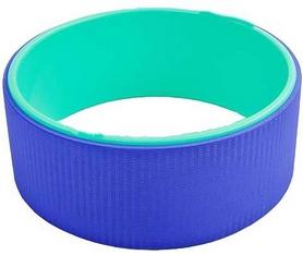 Фото 2 к товару Колесо-кольцо для йоги Pro Supra FI-5110 Yoga Wheel зеленый-фиолетовый