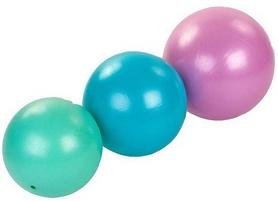 Фото 3 к товару Мяч для пилатеса и йоги Pro Supra Pilates ball Mini FI-5220-30 Pastel розовый