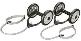 Набор гимнастических колес с эспандерами HouseFit DD 6959