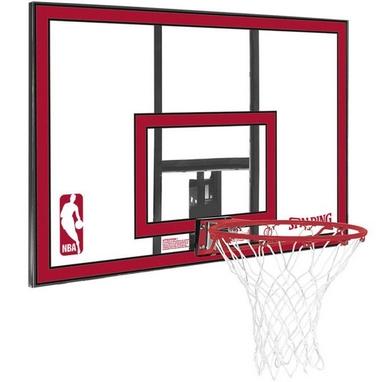 Щит баскетбольный Spalding NBA Combo - 44 Polycarbonate (112х73,5 см)