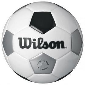 Мяч футбольный Wilson Traditional Wh/Bl/Sl SZ4 SS16