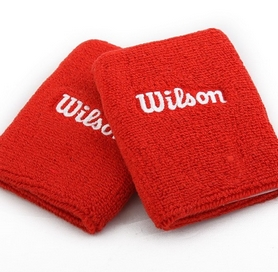 Повязка на кисть (напульсник) Wilson Double Wristband SS15 Red