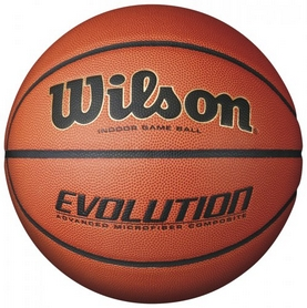 Мяч баскетбольный Wilson Evolution Basketball SS16 Brown